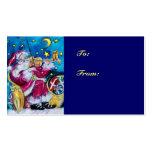INSPIRED SANTA  /  Musical Christmas Night Business Card Templates