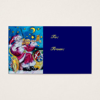 INSPIRED SANTA  /  Musical Christmas Night Business Card