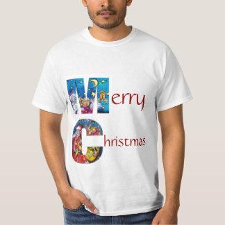 INSPIRED SANTA  WITH CHRISTMAS GIFTS MONOGRAM T-Shirt