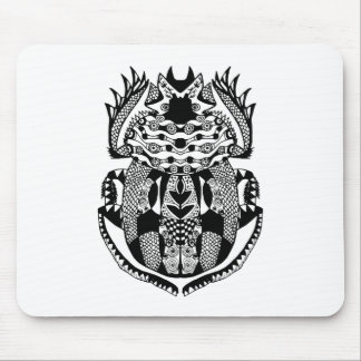 Inspired Scarab Mouse Pad