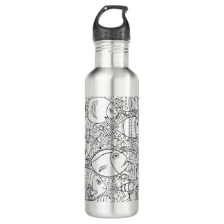 Inspired School Of Fish Water Bottle
