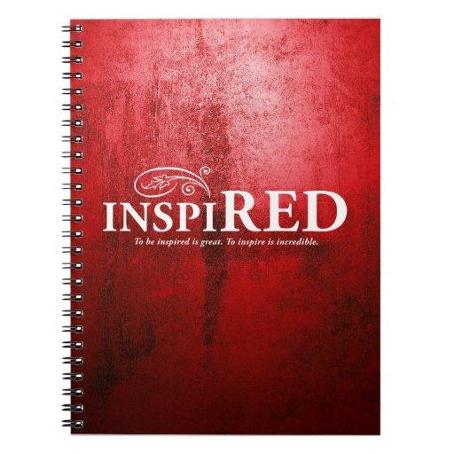 Inspired Spiral Notebook