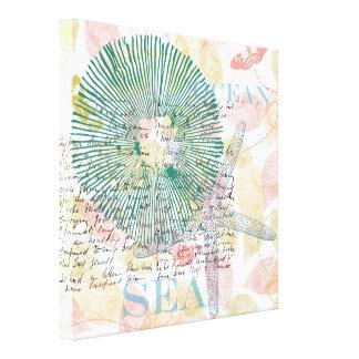 Inspired Starfish Canvas Print