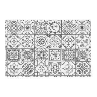 Inspired Talavera Pattern Placemat