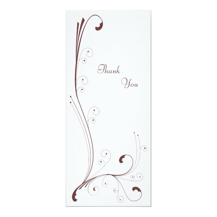 Inspired - Thank You Card