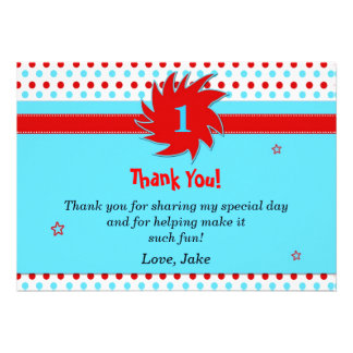 Inspired Thank You Card Personalised Invitation