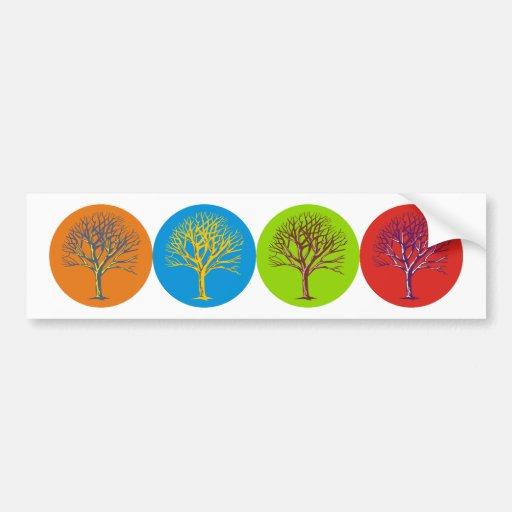 Inspired Trees Bumper Sticker