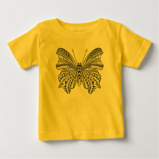 Inspired Tropical Butterfly Baby T-Shirt