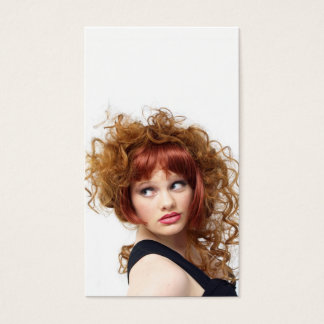 Inspired Updo Business Card