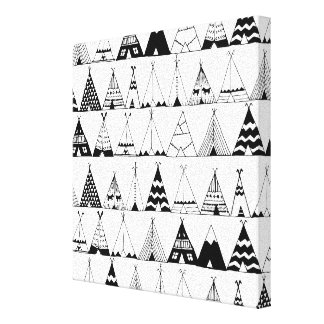 Inspired Wigwam 6 Canvas Print