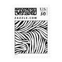 Inspired Zebra Print Postage
