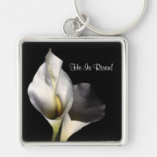 Inspiring Blessed and Wonderful Easter Greeting Keychain