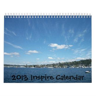 Inspiring Calendar for 2013 with nature photos