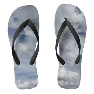 Inspiring Cloudscape Flip Flops