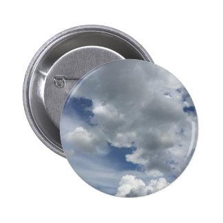 Inspiring Cloudscape Pinback Button