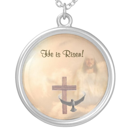 Inspiring He is Risen Necklace