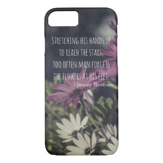 Inspiring Jeremy Bentham Quote iPhone 8/7 Case