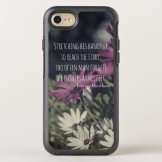 Inspiring Jeremy Bentham Quote OtterBox Symmetry iPhone 8/7 Case