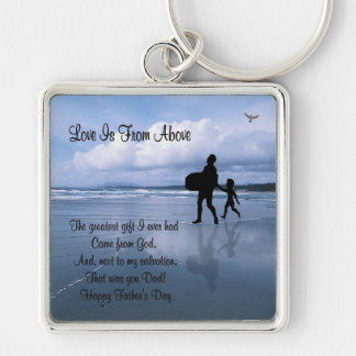 Inspiring Love is From Above – Father & Child Keychain