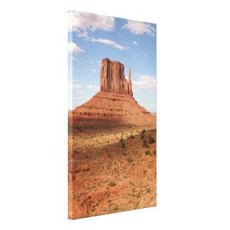Inspiring Monument Valley Spire Canvas Print