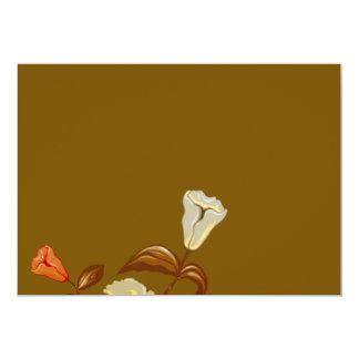 Inspiring Orange and yellow blossom Card