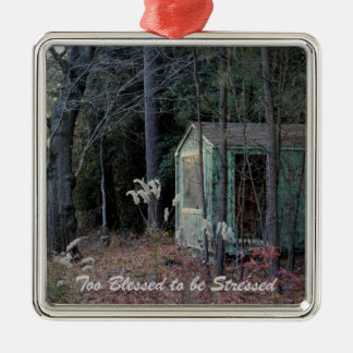 """Inspiring Ornament , Too Blessed to be Stressed"""""""