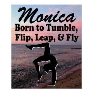 INSPIRING PERSONALIZED GYMNASTICS POSTER
