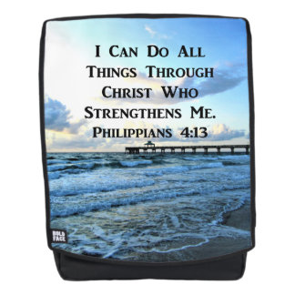 INSPIRING PHILIPPIANS 4:13 BACKPACK