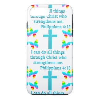 INSPIRING PHILIPPIANS 4:13 DESIGN iPhone 7 PLUS CASE