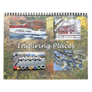 Inspiring Places Calendar