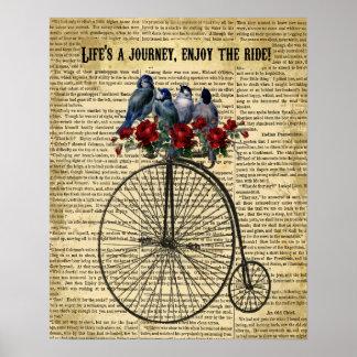 inspiring quote artwork poster