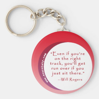 Inspiring Quote for Motivation Keychain