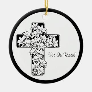 Inspiring! Rejoice - He is Risen Ornament