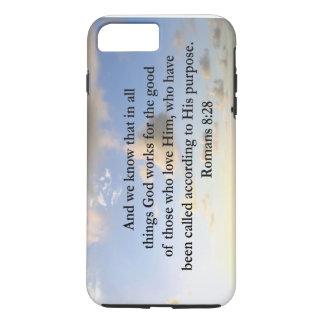 INSPIRING ROMANS 8:28 DESIGN iPhone 7 PLUS CASE