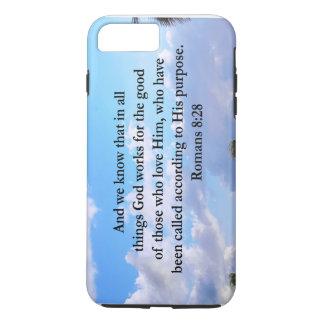 INSPIRING ROMANS 8:28 iPhone 7 PLUS CASE