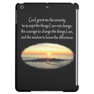 INSPIRING SUNRISE SERENITY PRAYER DESIGN