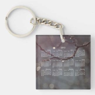 Inspiring Sunshine; 2013 Calendar Keychain