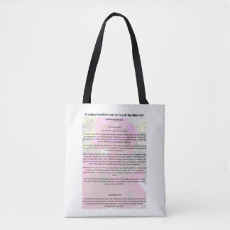 Inspiring tote for daily tasks!