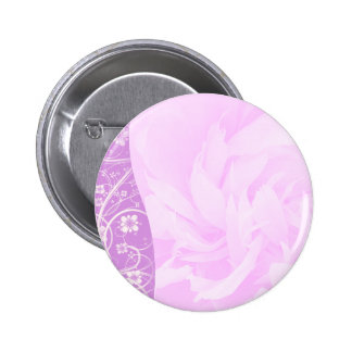 Inspiring Violet swirls and floral special gift Pinback Button