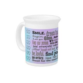 inspiring words pitcher