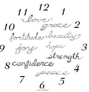 inspirational words wall clocks zazzle