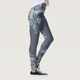 Inspirit Blue Leggings