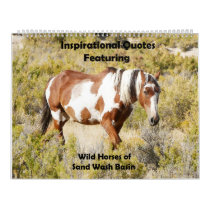 Inspriational Quotes featuring Wild Horses Calendar