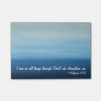 Inspriational Scripture Ocean Post-it Notes