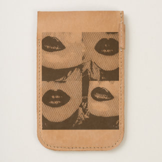 Insta-famous Leather Phone Pouch