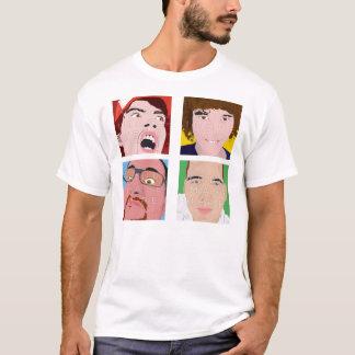 Instagram 4 Photo Men's Custom Shirt Design