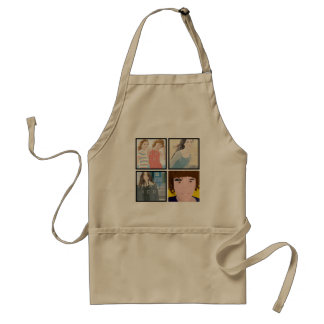 Instagram 4 Photo Personalized Apron Designs