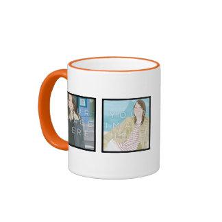 Instagram 4 Photo Personalized Custom Mug Designs
