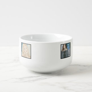 Instagram 4-Photo Personalized Custom Soup Mug