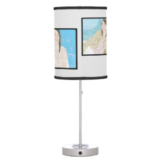 Instagram 4-Photo Personalized Lamp Customizable